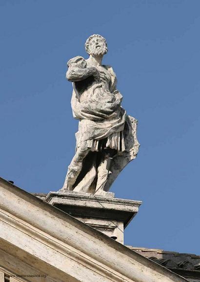 Святой Галликан - Колоннада Святых Ватикана