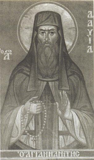 преподобномученик Давид Афонский, Солунский
