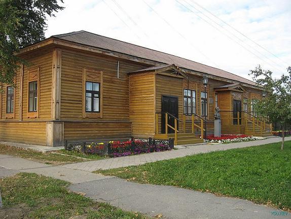 Здание, в котором размещалась школа в 1846г