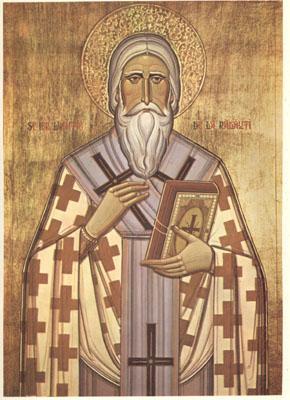 Свт. Леонтий Радовецкий. Икона, написана к канонизации 1992 г.