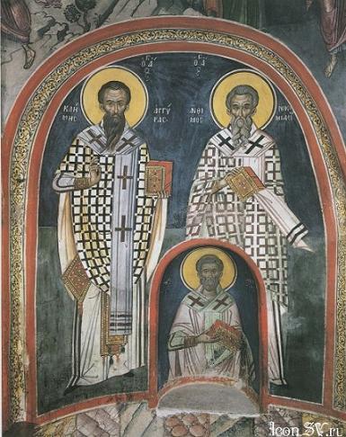 Священномученик Климент и мученик Агафангел