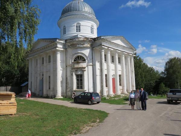 храм Телебукино внешний вид до реставр