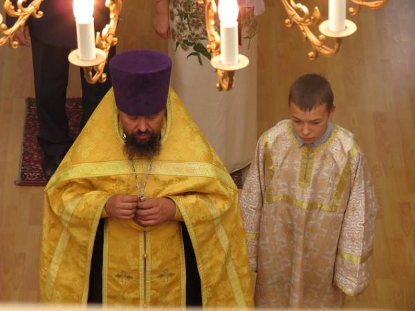 отец Василий с сыном Николаем