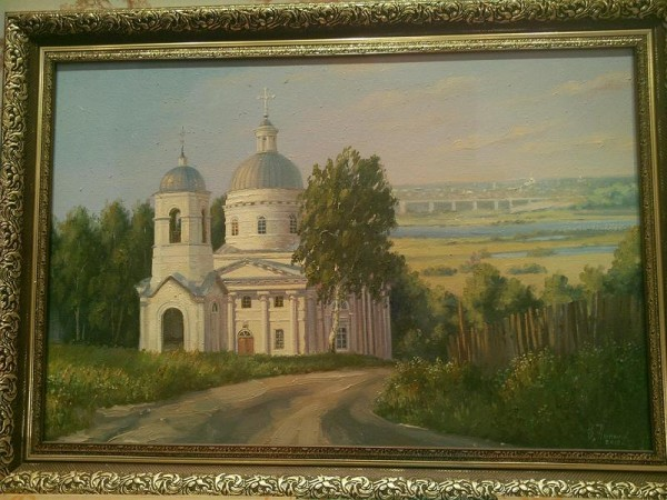 храм картина Телебукино