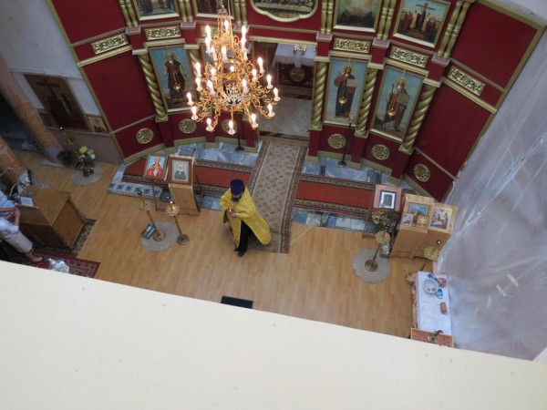 храм Телебукино внешний вид до реставр внутри сверху