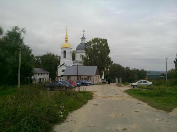 храм Телебукино октябрь 2014