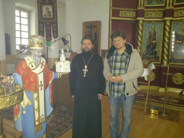 с отцом Василием