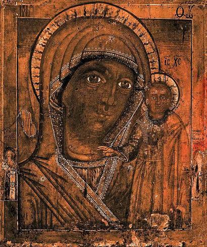Икона Богородицы Казанская (Чимеевская)