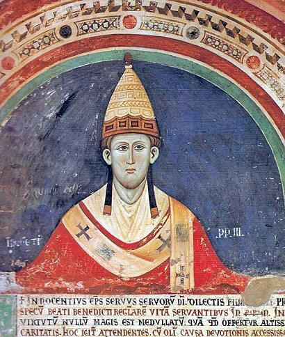 папа Иннокентий 3