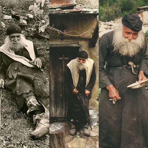 Святогорский старец Харлампий Капсалиотис (+5 февраля 18 февраля 1998)
