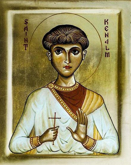 Мученик Кенельм Валлийский (Kenelm), король Мерсийский