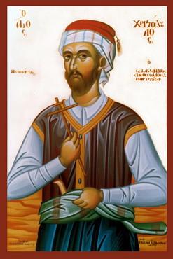 мученик Христодул Солунский, Кассандрский