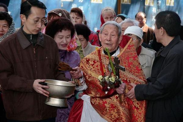 Иерей Михаил Ван Цюаньшэн 1