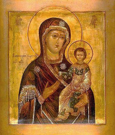 икона Божией Матери «ОДИГИТРИЯ» ВОРОНИНСКАЯ