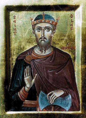 Мученик Олаф II Харальдссон, король Норвегии