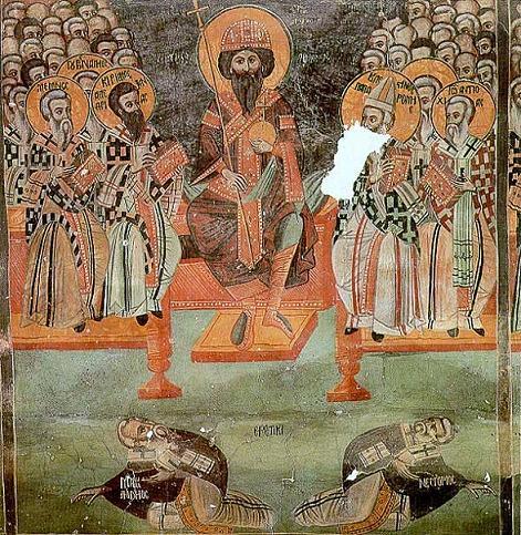 Св. император Феодосий II Младший возглавляет III Вселенский Собор