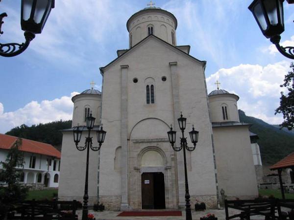 Монастырь Милешева, построенный королем Стефаном Владиславом