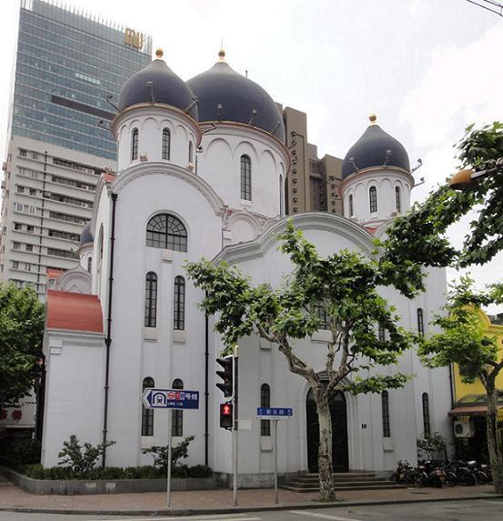 Собор в честь иконы Божией Матери Споручница грешных в Шанхае, кафедральный собор Шанхайской епархии