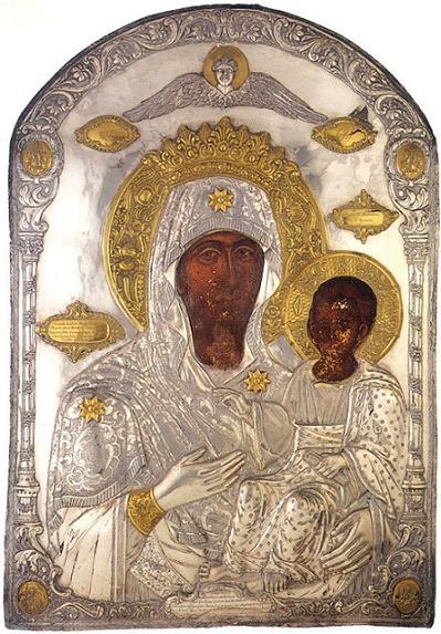 Икона Божией Матери Предвозвестительница (Антифонетрия)