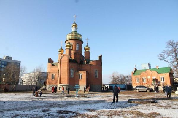 Андреевский храмовый комплекс на ж-м Левобережный-3 в Днепропетровске