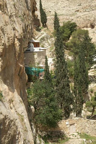 Фаранская лавра в долине Фаран, Израиль