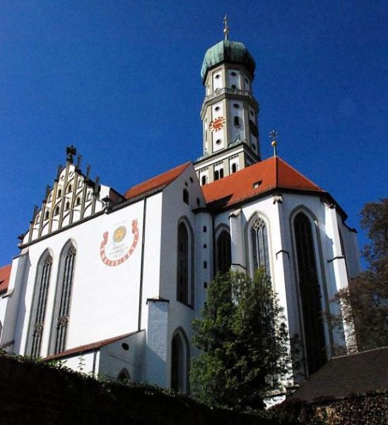 Бенедиктинское аббатство Св. Ульриха и Афры (Benediktinerkloster St. Ulrich und Afra), Германия, базилика