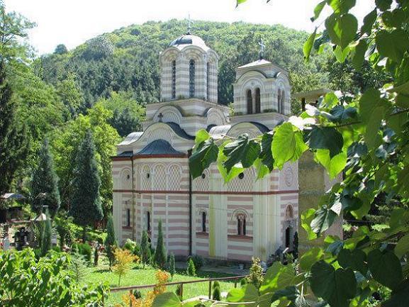 Монастырь Туман — женский монастырь в Сербии, посвящённый Ксении Блаженной. Монастырь основан Милошем Обиличем в XIV веке в 12 километрах от города Голубац