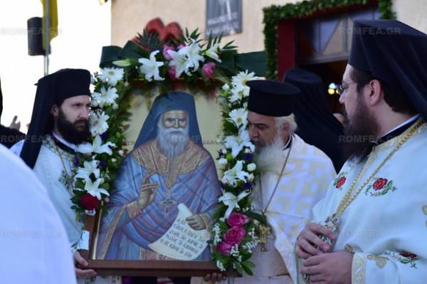 Греции освящен храм в честь Порфирия Кавсокаливита 3