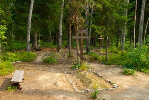 Кладбище жертв ГУЛАГа у подножия Секирной горы, Соловецкие острова