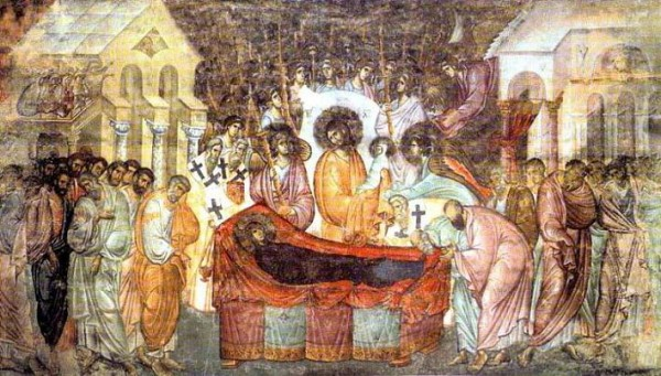 Успение пресвятой Богородицы, Монастырь Сопочаны, Сербия, XIII век