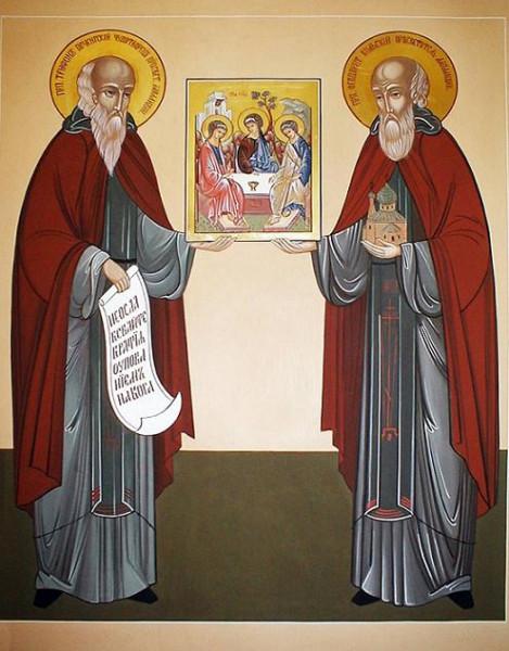 прп. Трифон Печенегский и Феодорит Кольский