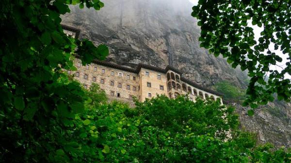 монастырь Панагия Сумела, Турция