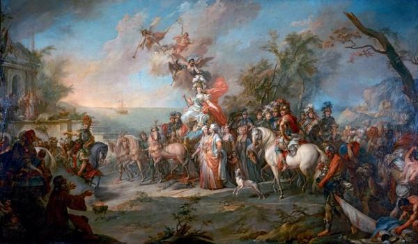Победа Екатерины II над турками, Стефано Торелли, 1772 год