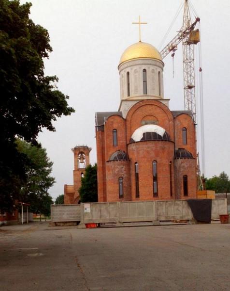 храм новомучеников и исповедников Российских г. Беслан