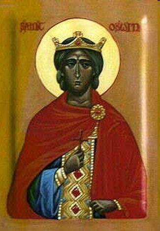 Мученик Освин, король Нортумбрийский