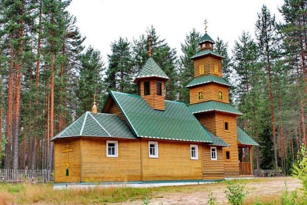 Церковь Фаддея Петрозаводского - Верхнеолонецкий - Олонецкий район - Республика Карелия