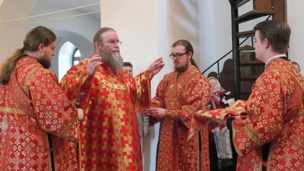 Красная Горбатка архиерейское богослужение 2