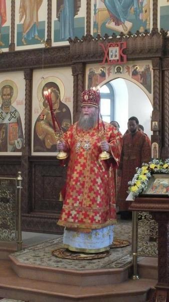 Красная Горбатка архиерейское богослужение 4