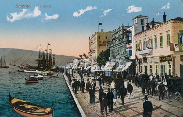 набережная Смирны в 1910 году