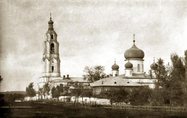 Тихвинская церковь Кирсановского Тихвино-Богородицкого женского монастыря, фото 1911 года
