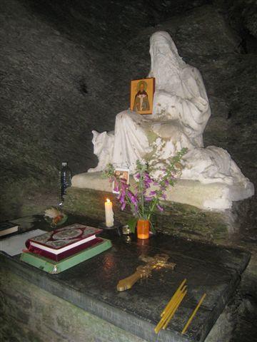 Преподобный Ремакль, апостол Арденнский - пещера святого