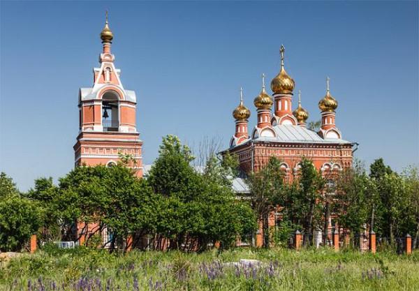 Церковь Спаса Нерукотворного Образа в Большом Свинорье