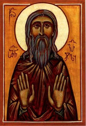 Преподобный Cимеон Гареджийский,  чудотворец