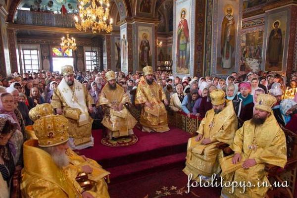 17 октября 2013 года, кафедральный собор Рождества Пресвятой Богородицы г. Кировограда, прославление блаж. Даниила