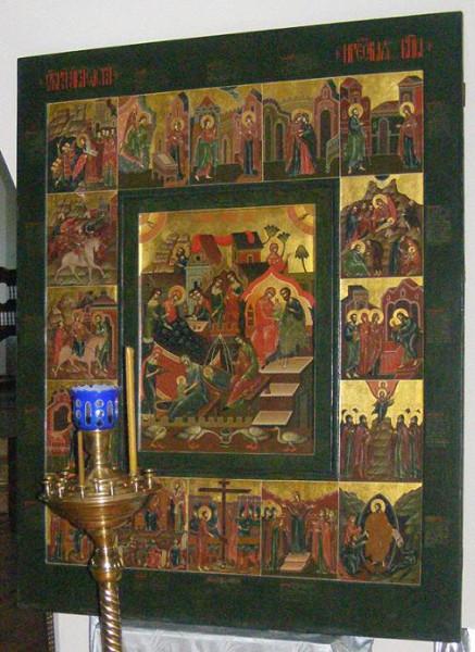 икона Божьей Матери «РОЖДЕСТВО БОГОРОДИЦЫ» ЛУКИАНОВСКАЯ 2