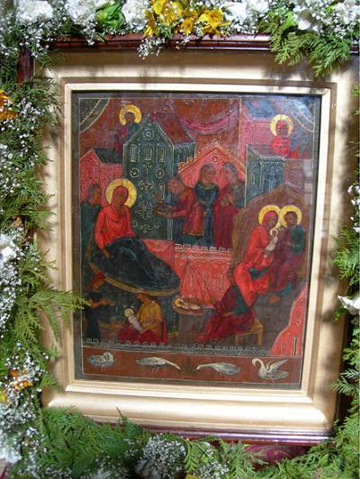 икона Божьей Матери «РОЖДЕСТВО БОГОРОДИЦЫ» ЛУКИАНОВСКАЯ 1