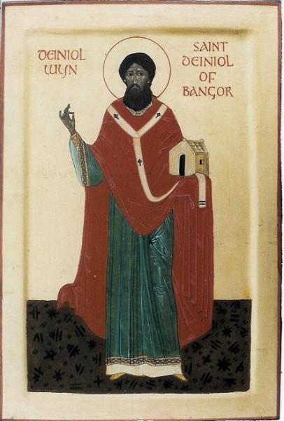Преподобный Даниил Бангорский, епископ