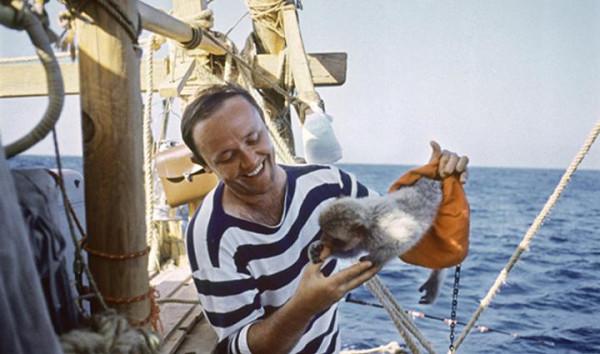 Юрий Сенкевич с обезьянкой