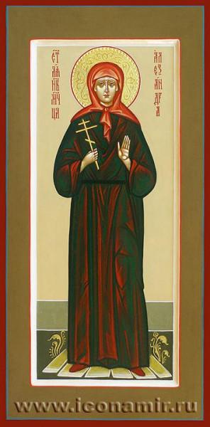 Преподобномученица Александра Хворостянникова, послушница