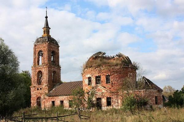 Токарево Церковь Николая Чудотворца 2
